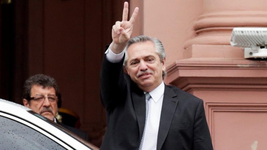 Alberto Fernández é o presidente eleito da Argentina e deve tomar posse em dezembro de 2019 - Ricardo Moraes/Reuters