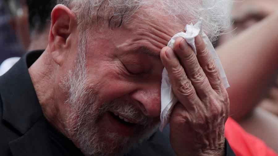 O ex-presidente Luiz Inácio Lula da Silva  - UESLEI MARCELINO