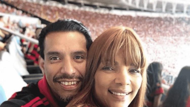 A deputada Flordelis e o marido Anderson, assassinado em junho de 2019 - Reprodução/Instagram - Reprodução/Instagram