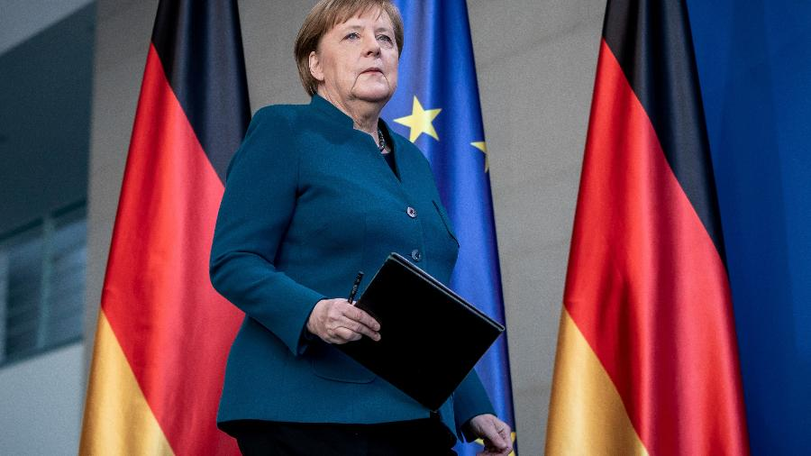 Chanceler alemã, Angela Merkel - POOL New