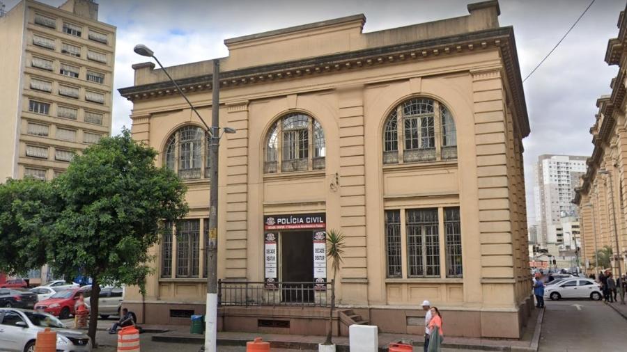 Fachada da 1ª Deatur (Divisão Especializada de Atendimento ao Turista), no centro de São Paulo - Reprodução/Google Maps