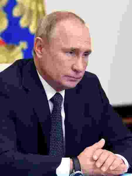 Vladimir Putin tem segurado comentários a respeito das eleições americanas - ALEXEY NIKOLSKY/AFP
