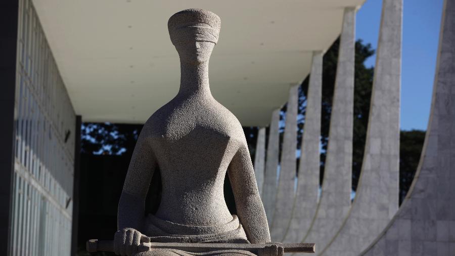 Exterior do prédio do STF, em Brasília - Ricardo Moraes