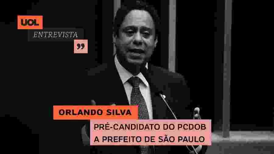 Orlando Silva no UOL Entrevista (27/08/20) - Arte/UOL
