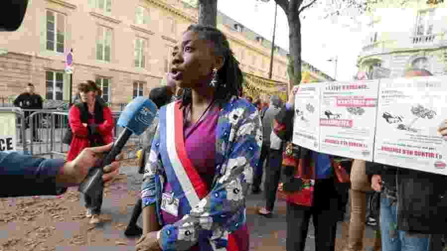 A deputada francesa Danièle Obono - NurPhoto/NurPhoto via Getty Images