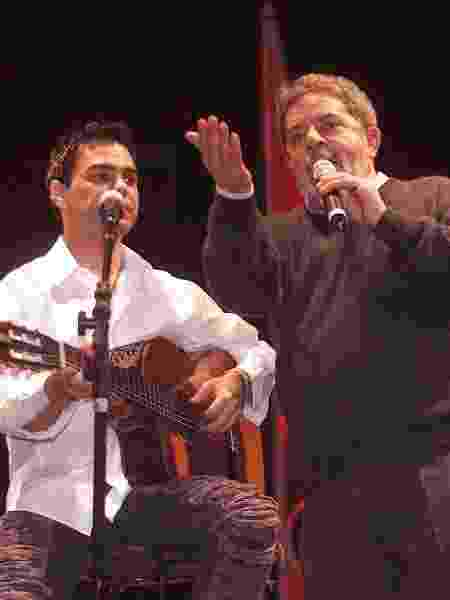 Lula e Zezé di Camargo e Luciano - Flávio Florido/Folhapress - Flávio Florido/Folhapress