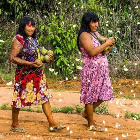 Mulheres da etnia Kisêdjê - Rogério Assis/ISA