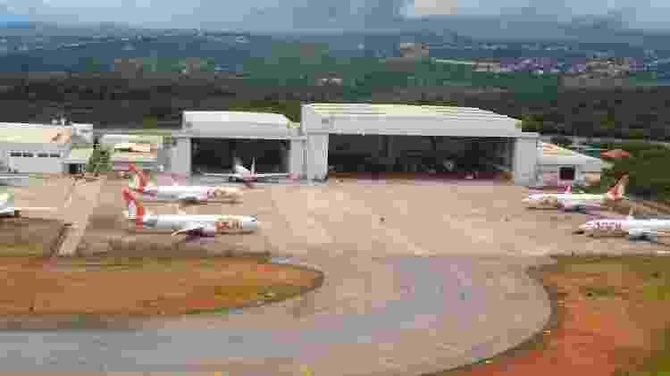Hangar da Gol - Vinícius Casagrande/UOL - Vinícius Casagrande/UOL