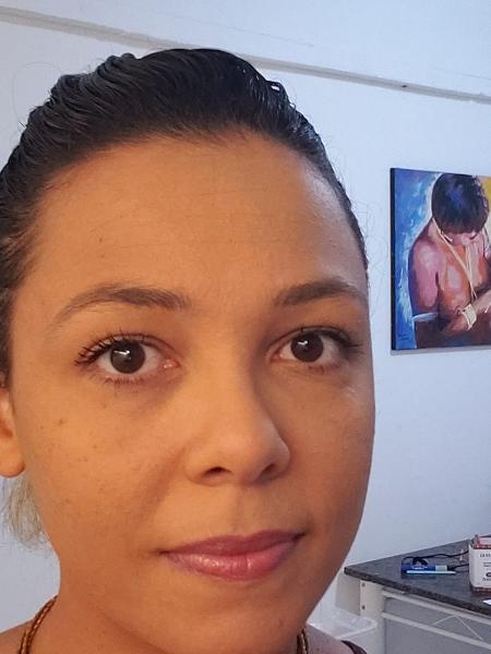 A professora Claudia Carnevskis, da Universidade Federal do Amazonas, morava em apartamento diante do hospital de campanha de Manaus - Arquivo Pessoal/Claudia Carnevskis