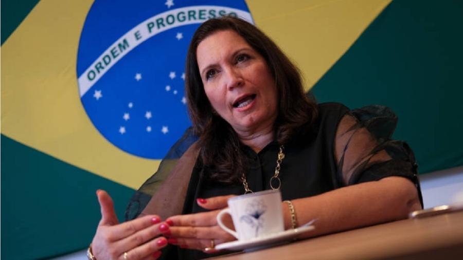 Ex-líder do governo no Congresso, Kicis é investigada no chamado inquérito das fake news no STF (Supremo Tribunal Federal) - Pedro Ladeira/Folhapress