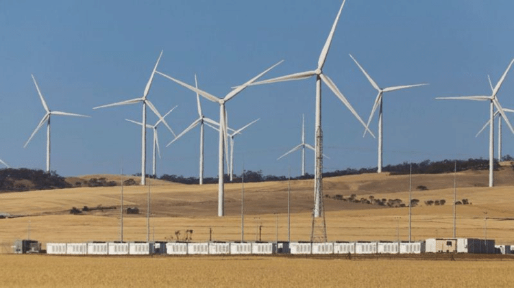 Atualmente, a maior bateria do mundo é a Hornsdale Power Reserve, no sul da Austrália - Alamy - Alamy