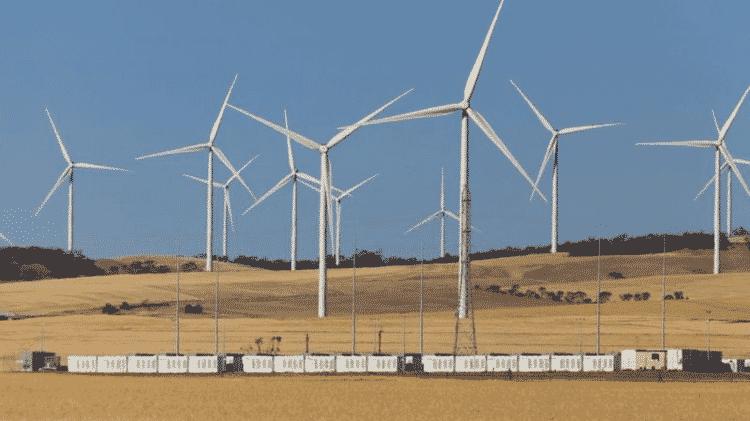 Hornsdale Power Reserve, - Alamy - Alamy
