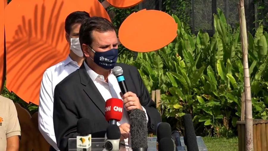 Paes pediu que o governo do estado siga as medidas restritivas que a prefeitura adotar - Reprodução/Facebok