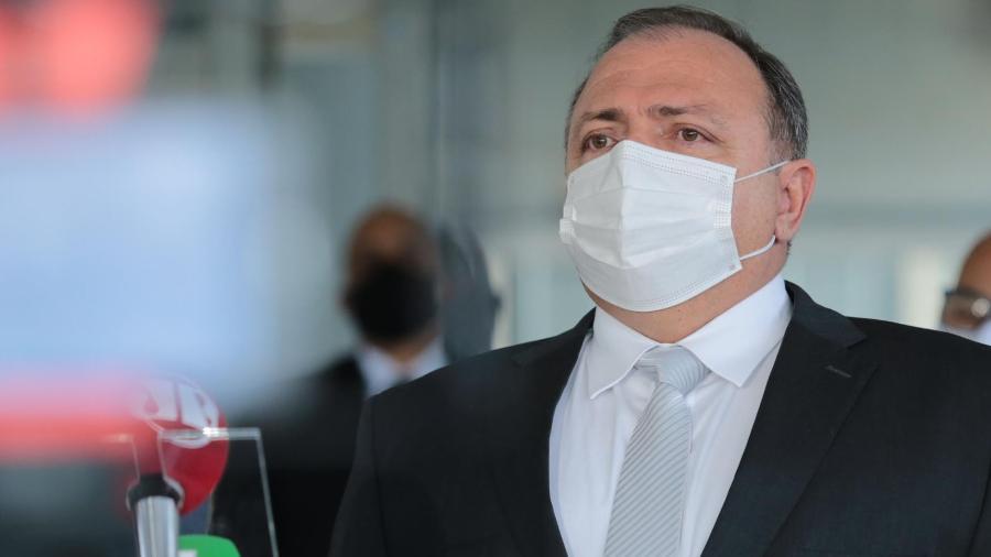 Ex-ministro da Saúde, Eduardo Pazuello deverá depor à CPI da Covid na próxima quarta-feira, dia 19 de maio - Wallace Martins/Futura Press/Estadão Conteúdo