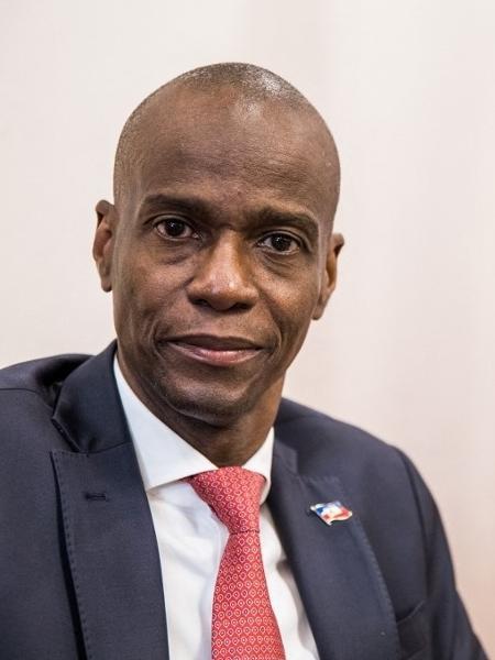 Jovenel Moise no Palácio Presidencial do Haiti - Valerie Baeriswyl/AFP