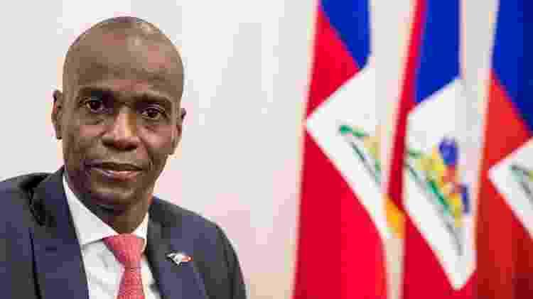 Jovenel Moise no Palácio Presidencial do Haiti - Valerie Baeriswyl/AFP - Valerie Baeriswyl/AFP