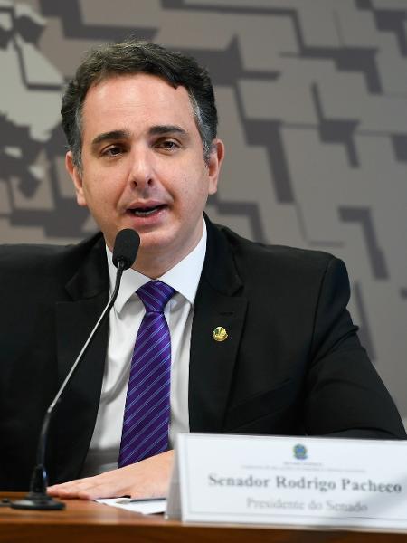 O presidente do Senado Federal, senador Rodrigo Pacheco (DEM-MG) - Edilson Rodrigues/Agência Senado