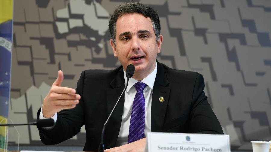O presidente do Senado, Rodrigo Pacheco, sinalizou que analisará com boa vontade novo PL apresentado hoje pelo governo - Edilson Rodrigues/Agência Senado