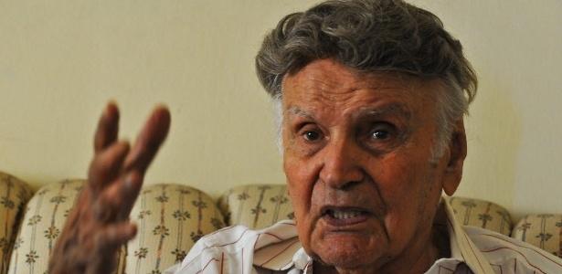 2.ago.2015 - O italiano Orlando Orfei, 95, morreu na noite de sábado (1) de pneumonia no HSCOR de Duque de Caxias, na Baixada Fluminense. Orfei é considerado um dos grandes nomes do circo brasileiro - Pedro Carrilho / Folhapress