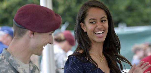 Malia Obama, filha do presidente dos EUA - Andreas Solaro - 19.jun.2015/AFP
