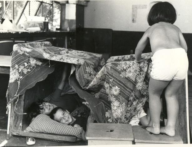 NÃO PUBLICAR SEM AUTORIZAÇÃO - Foto de 1986 da Escola Vivendo e Aprendendo