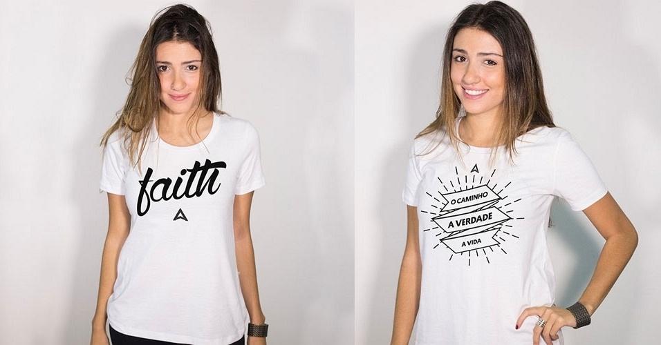 A Salmo vende camisas  estampadas com dizeres religiosos, em modelos femininos e masculinos