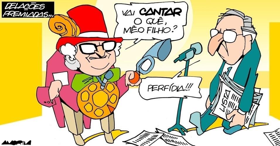 23.out.2016 - Quando abrir a boca, o ex-deputado Eduardo Cunha não serã tão amistoso