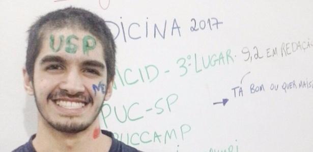 Ângelo ainda aguarda confiante o resultado da Unicamp - Arquivo pessoal