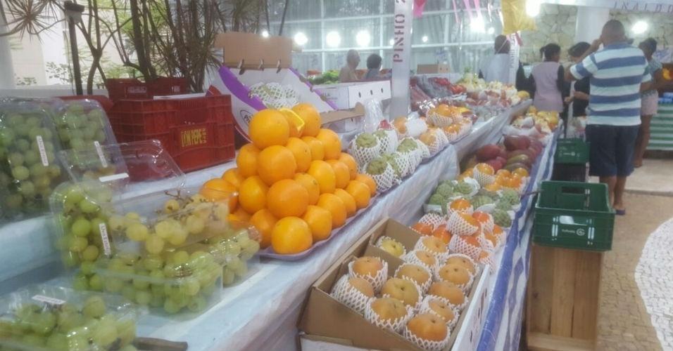 Feira Premium barraca de frutas de feira dentro de condomínios fechados