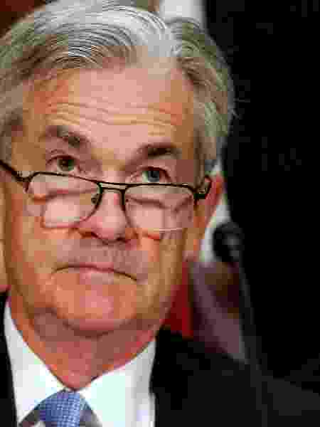 Jerome Powell, presidente do Federal Reserve --o banco central americano - Joshua Roberts/Reuters