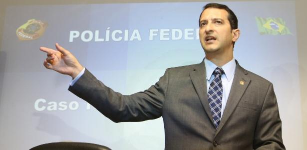 Rogério Galloro, que assumirá o comanda da Polícia Federal após saída de Segovia