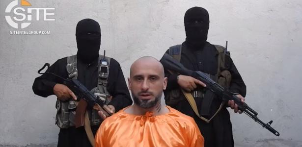 Italiano Alessandro Sandrini, capturado na Turquia em 2016 e mantido refém na Síria