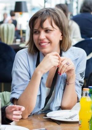 A cineasta Emilia Mello (centro), que foi detida e deportada da Nicarágua  - Arquivo pessoal