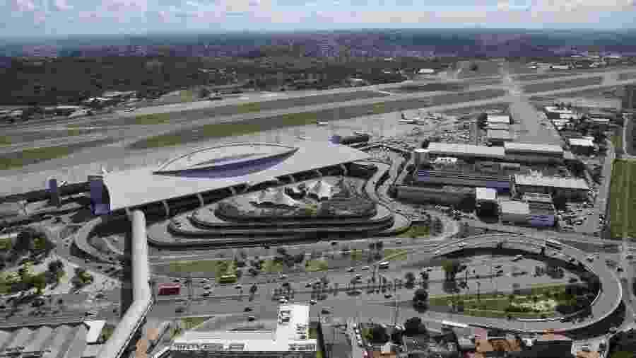 Aeroporto Internacional de Recife será um dos leiloados - Gilberto Freyre/Infraero
