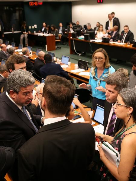 15.abr.2019 - Sessão da CCJ da Câmara  - Pedro Ladeira/Folhapress