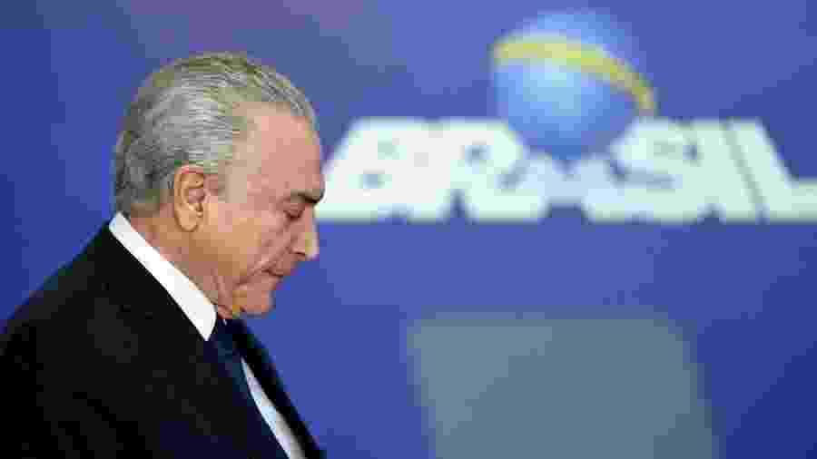 Decisão desta terça-feira do STJ permitiu liberação do ex-presidente Michel Temer, preso desde o dia 9 de maio - EVARISTO SA/AFP/Getty