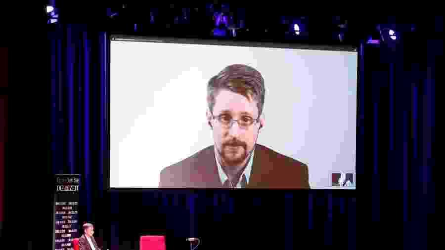 Snowden participo de um podcast nos EUA - Fabrizio Bensch/Reuters