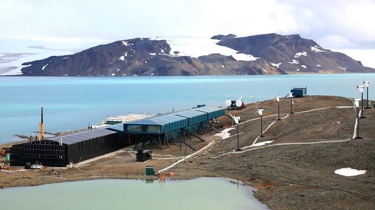 Estação Comandante Ferraz, a base científica brasileira na Antártida reinaugurada após incêndio em 2012 - Divulgação/Marinha do Brasil