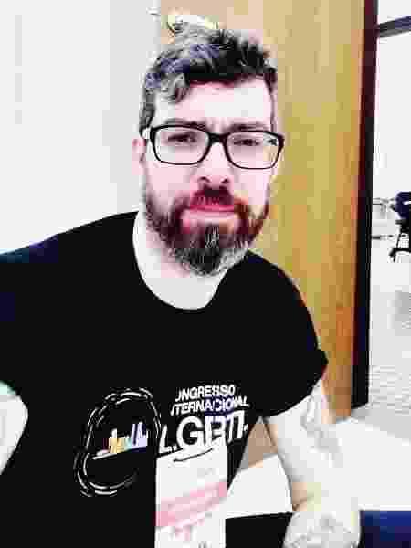 Augusto Menna Barreto, coordenador da área de HIV/ Aids da Aliança Nacional LGBTI - Divulgação - Divulgação