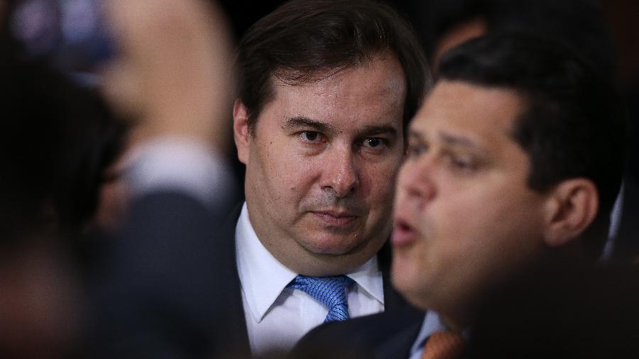 """""""O Brasil precisa de paz e responsabilidade para progredir"""", diz presidente da Câmara no Twitter - Pedro Ladeira/Folhapress"""