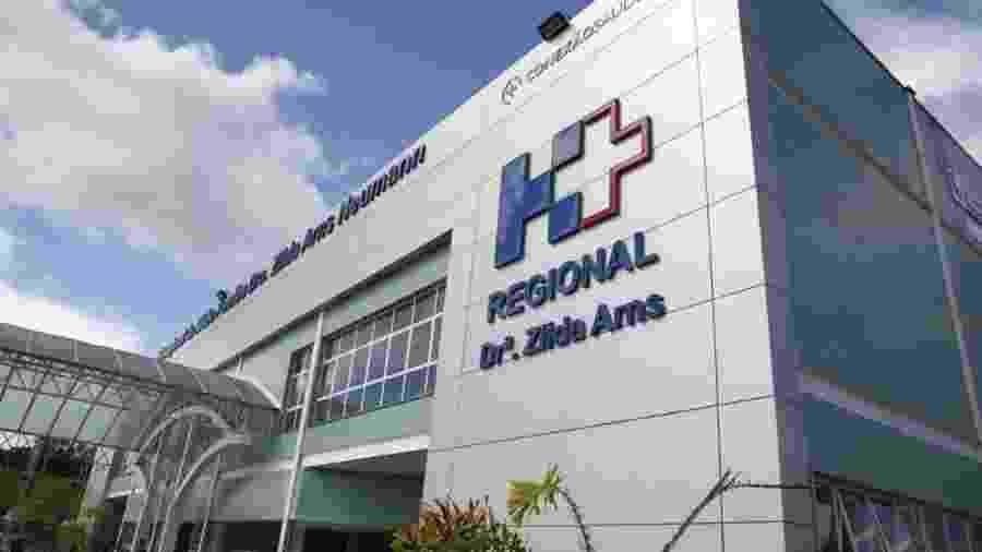 Hospital Regional Zilda Arns Neumann, em Volta Redonda, na região do Médio Paraíba - Mauricio Bazílio/SES