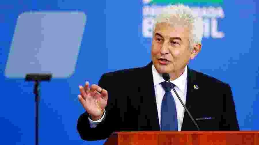 O ministro da Ciência e Tecnologia, Marcos Pontes, enviou ofício solicitando aumento no referencial orçamentário de 2021  - Francisco Stuckert/Fotoarena/Estadão Conteúdo