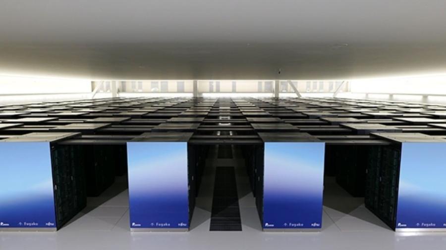 Supercomputador Fugaku - Divulgação/Instagram @riken_rccs
