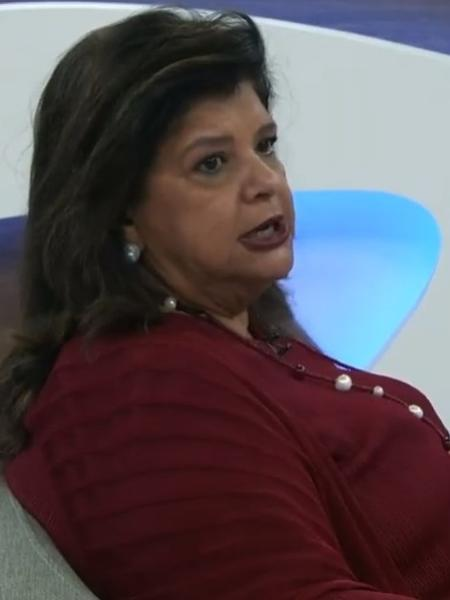 Luiza Trajano, dona da rede Magazine Luiza, em entrevista ao programa Roda Viva, da TV Cultura - Reprodução/TV Cultura