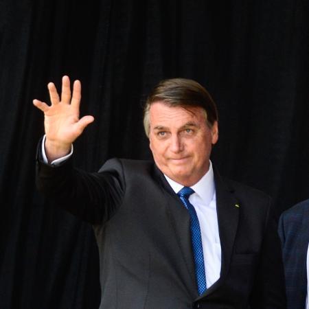 """Arquivo - Bolsonaro afirmou que a volta do auxílio emergencial representará um """"endividamento"""" para o governo - Eduardo Valente/iShoot/Estadão Conteúdo"""