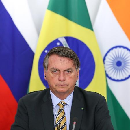 Arquivo - O presidente Jair Bolsonaro foi questionado por um seguidor sobre o aumento da conta de luz  - Marcos Corrêa/PR