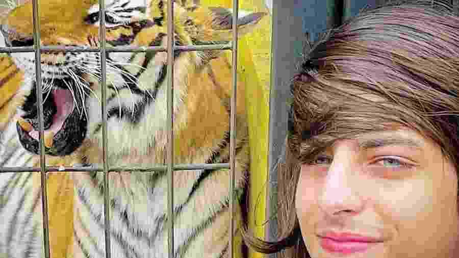 Lucas tem 14 anos e é filho de Henri com a modelo Isabeli Fontana - Reprodução/Instagram