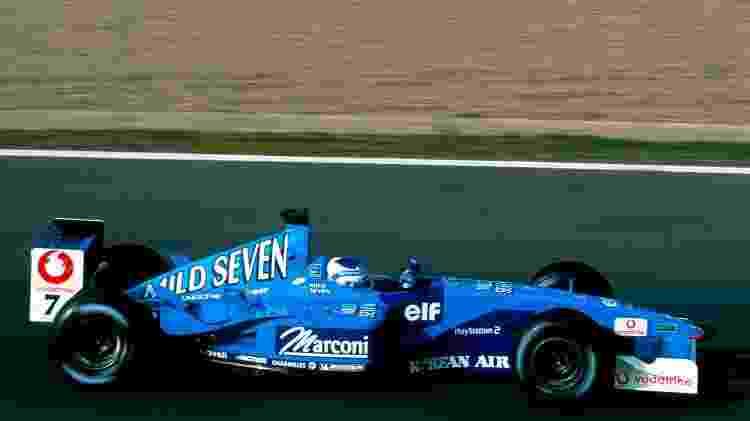 Renault F1 Fisico 2001 - Divulgação  - Divulgação