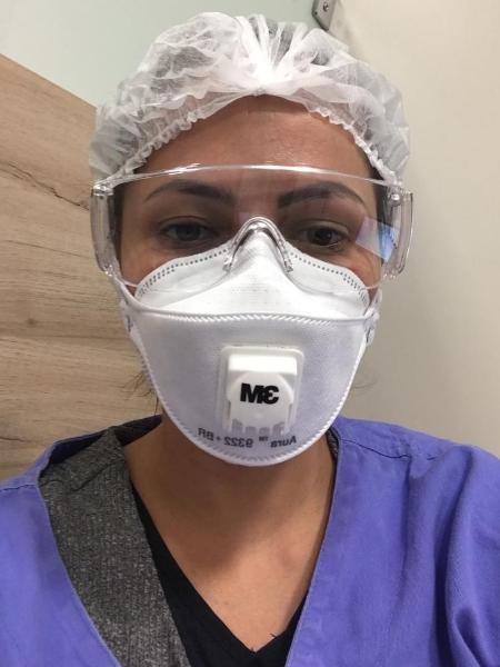 A infectologista Lourdes Borzacov - Arquivo pessoal
