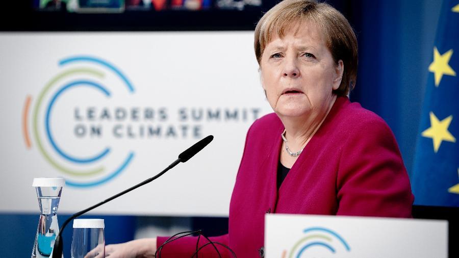 """Arquivo - """"A União Europeia deve buscar formas de negociar com Moscou"""", disse a chanceler - Kay Nietfeld/ REUTERS"""